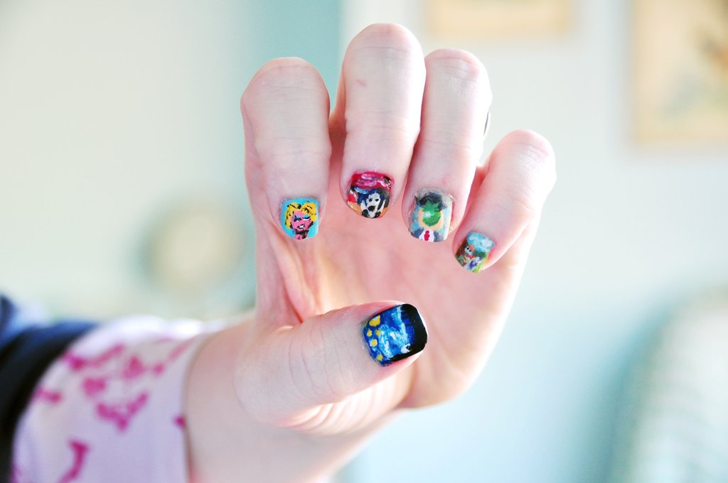 Famous Painting Nails | Lacquer-Dicted